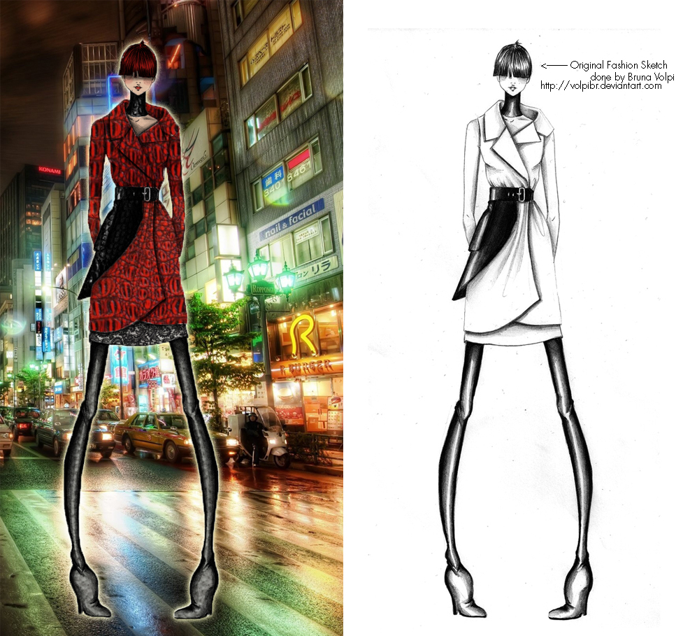 Photoshop For Fashion Design Project 3 Off Beat Alchemy