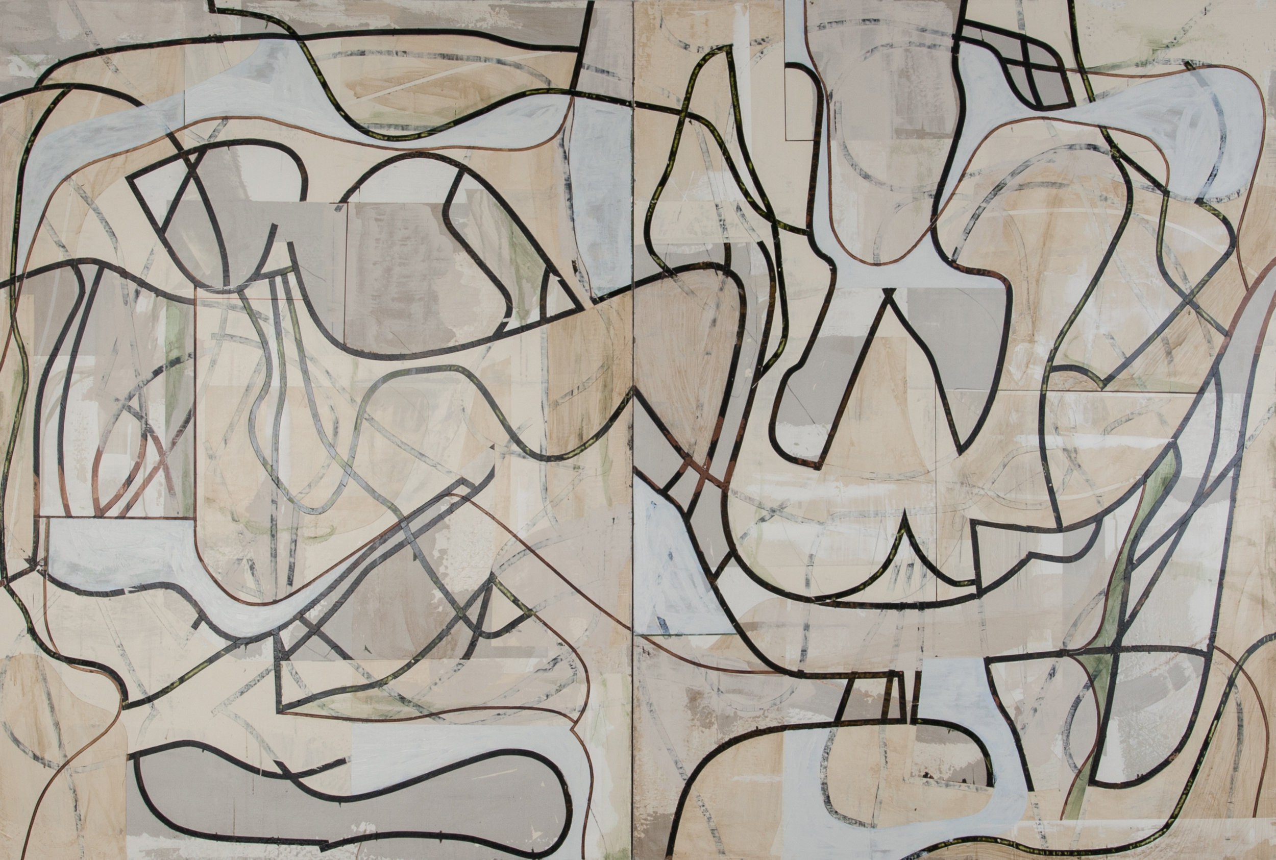 Untitled Diptych III