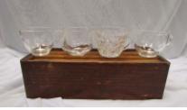 GLASS TEA CUPS       QUANTITY: 60 RENT: $1 EACH