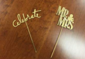 CAKE TOPPERS    QUANTITY: 2 RENT: $2 EACH
