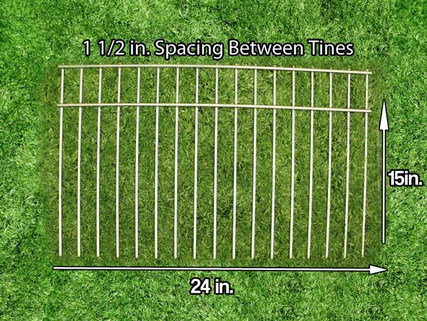 Drive-in ground fence panel that extends the protection of any fence or enclosed area