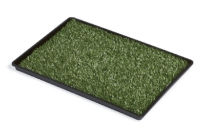 Artificial turf for home and travel. Freshen with Simple Green.
