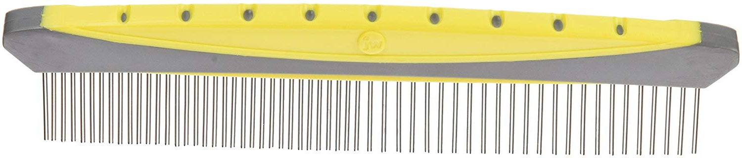 8-Inch Gripsoft Rotating Comfort Comb, Fine and Coarse