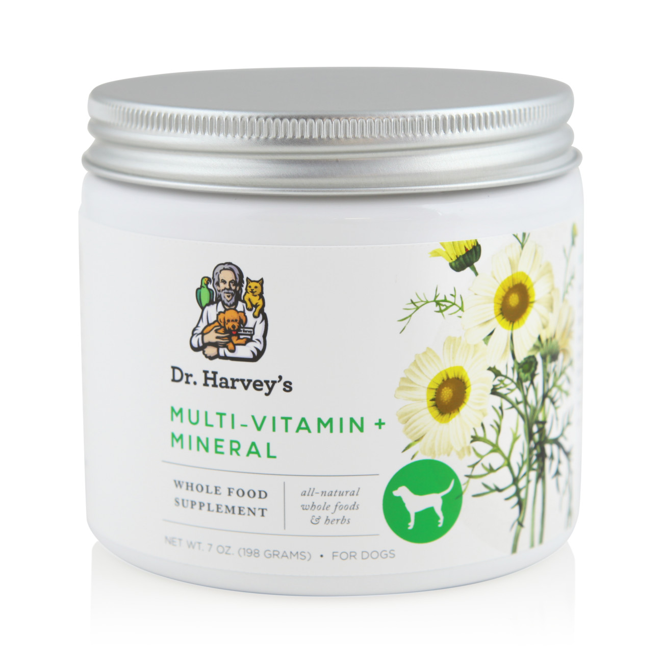 Natural Whole food Herbal Multi-Vitamin and Mineral Supplement