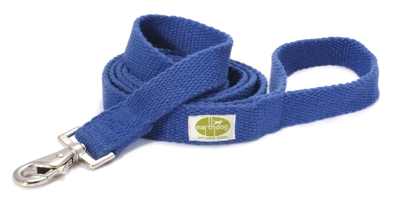 "Earth Dog Hemp Leash    1"" - 4.3 oz"