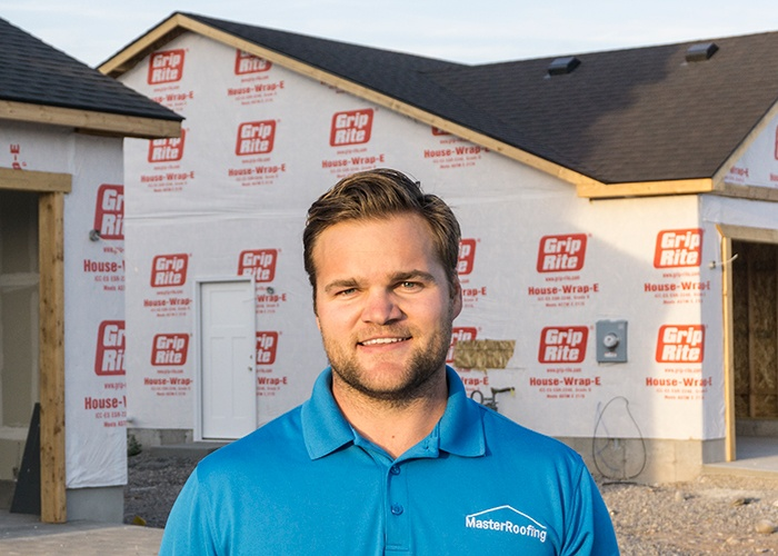 Mattie Tueller - Owner of Master Roofing