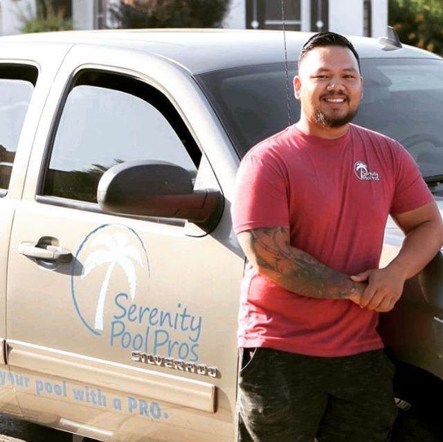 Meet the crew!  Angel has been a PRO on the SPP team since May.  He is a hard working guy, with lots of integrity.  He's eager to learn and has been expanding his knowledge exponentially over the last few months.  We're happy to have him on the SPP squad.  Thanks for all your hard work, Angel  #spp🌴 #trustyourpoolwithapro