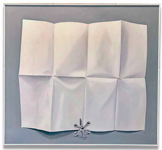 Bond Paper,2017 Oil on Canvas, 59x58 in.Private Collection.