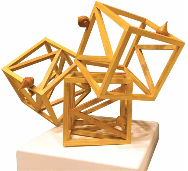 Geometric Game.Madera. Serie Game Over. Medidas Variables