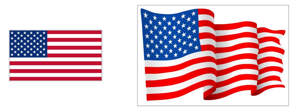 """66"""" flag and 108"""" waving flag"""