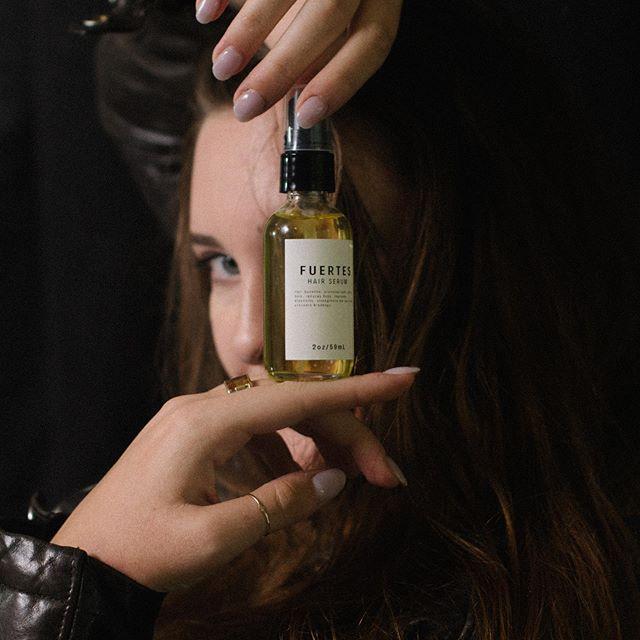 Sneak peak to the new Fuertes Hair serum.  #charlotte #newyork #losangeles #paris #milan #london #hairstylist #fuertes #hairartist