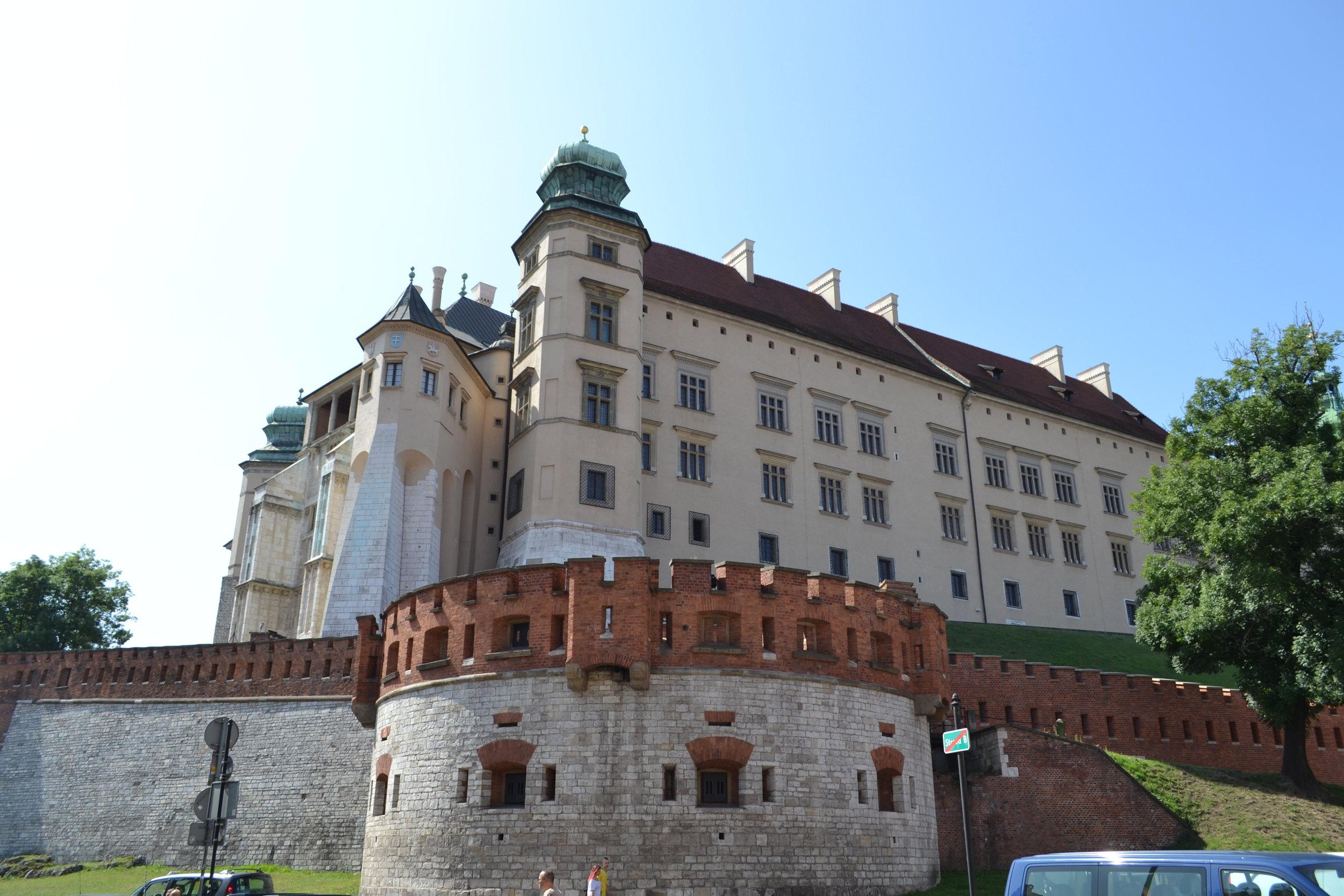 Wawel Castle Exterior