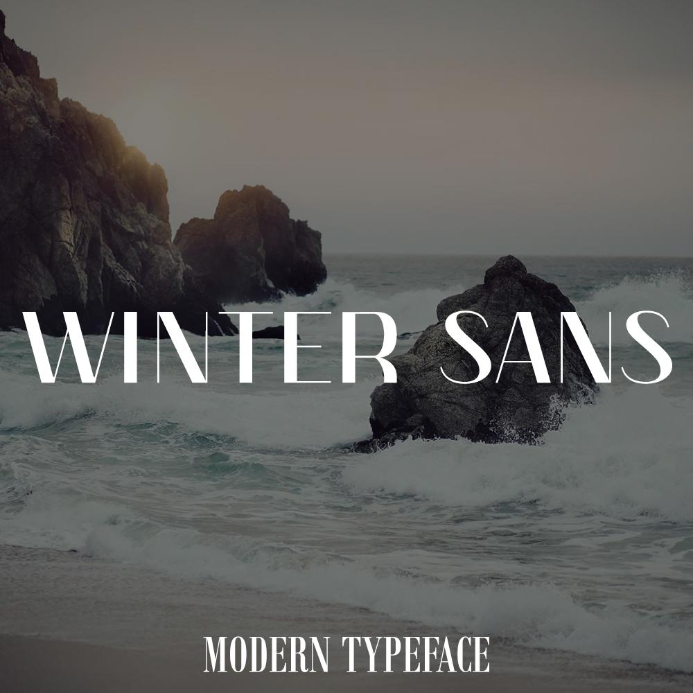 wintersans-font
