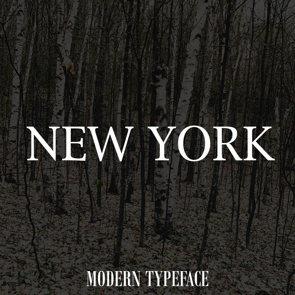 newyork-font