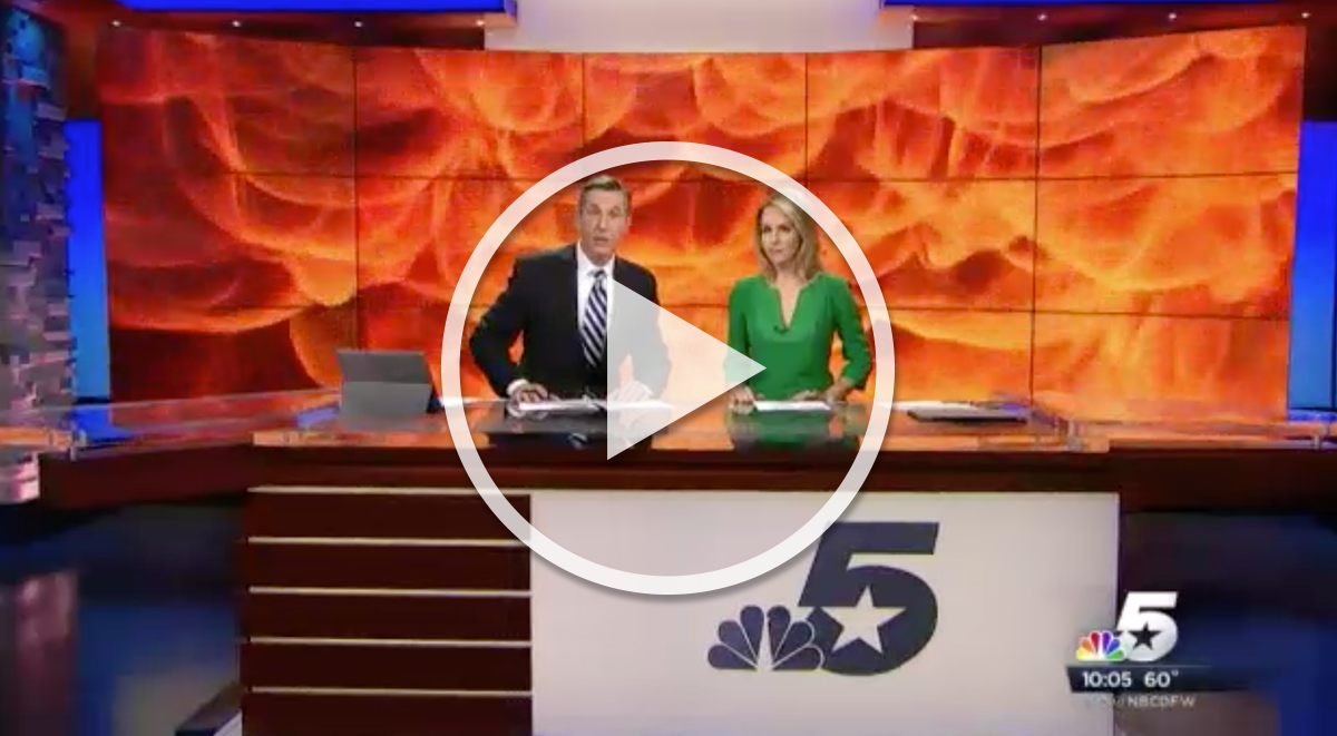 """NBC 5 News Dallas-Fort Worth """"How Closed Doors Can Provide Life-Saving Seconds in House Fires"""" (11/9/2015)"""