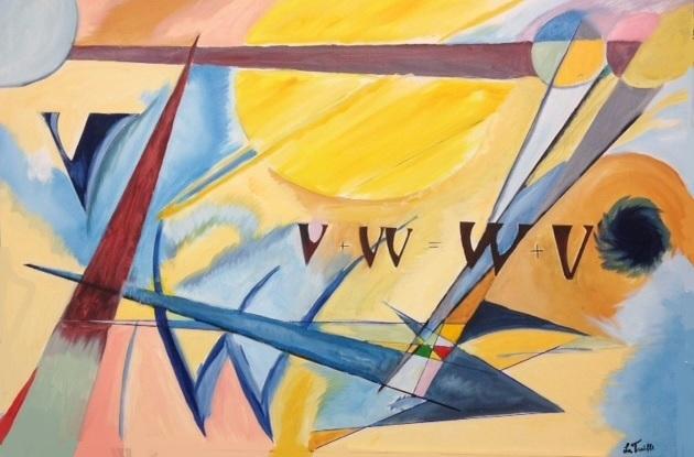 Vectors - Oil on Canvas by Greg La Traille. 2015.