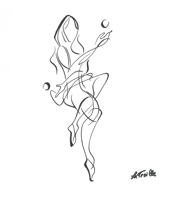 Juggler - Ink on Paper. 2012