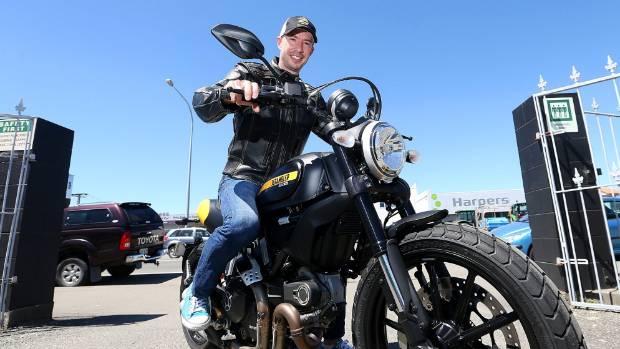 Beatnik owner Mike Gilbert has organised a group of bikers to ride down to Kaikōura on Saturday.