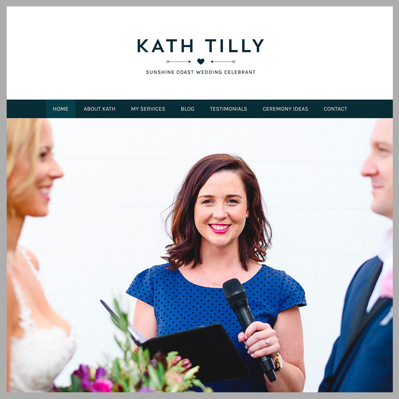Kath Tilly Wedding Celebrant