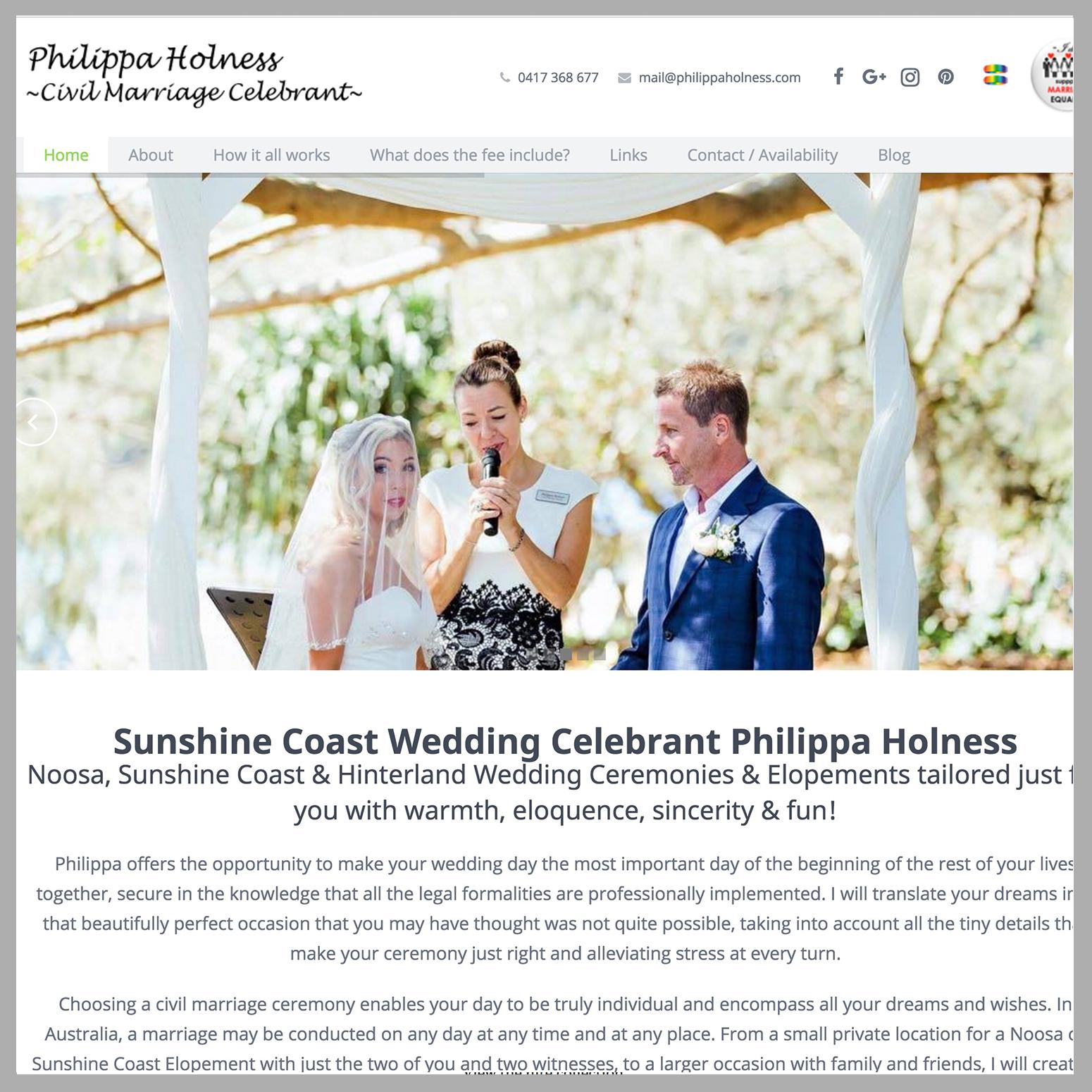 Philippa Holness Wedding Celebrant