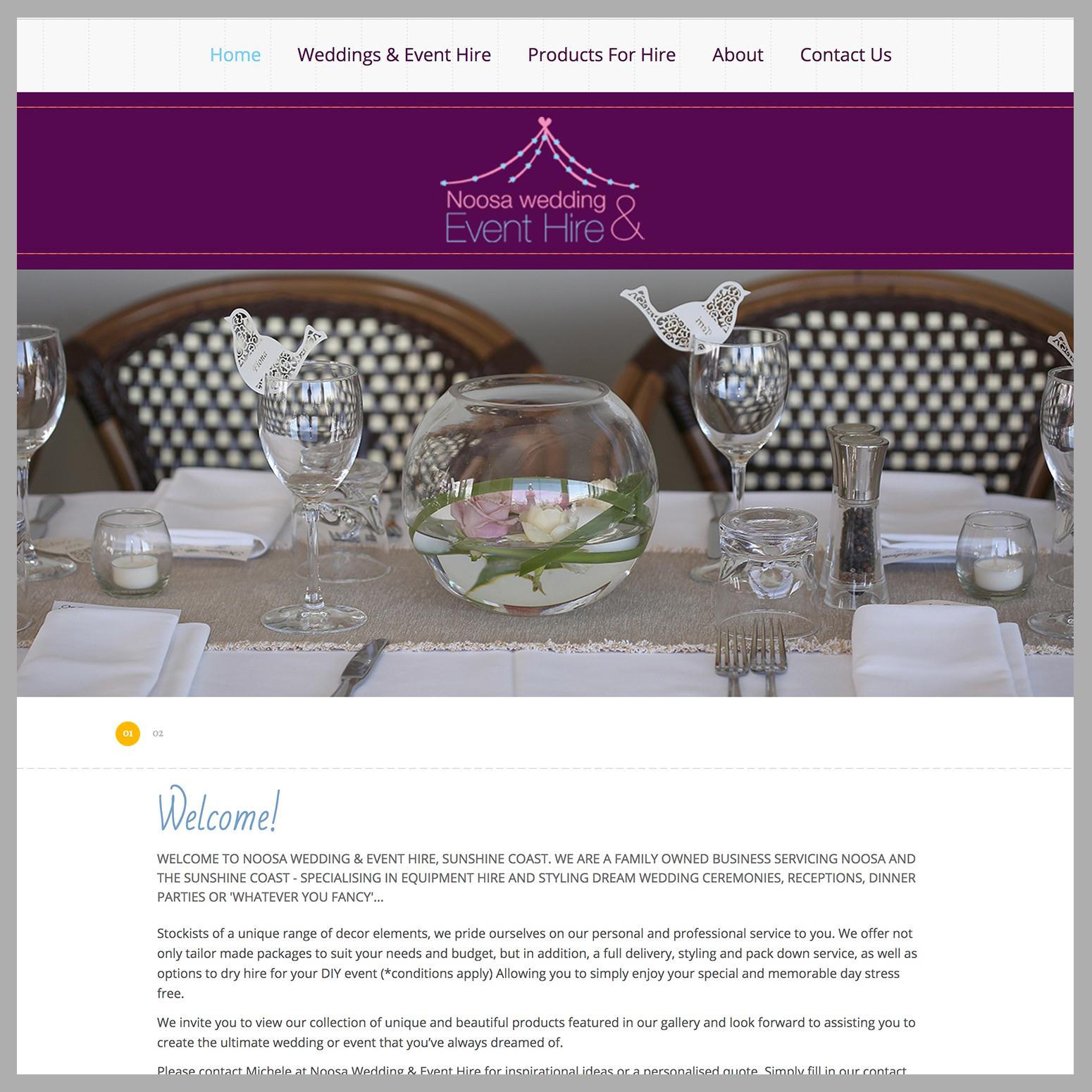 Noosa Wedding & Event Hire