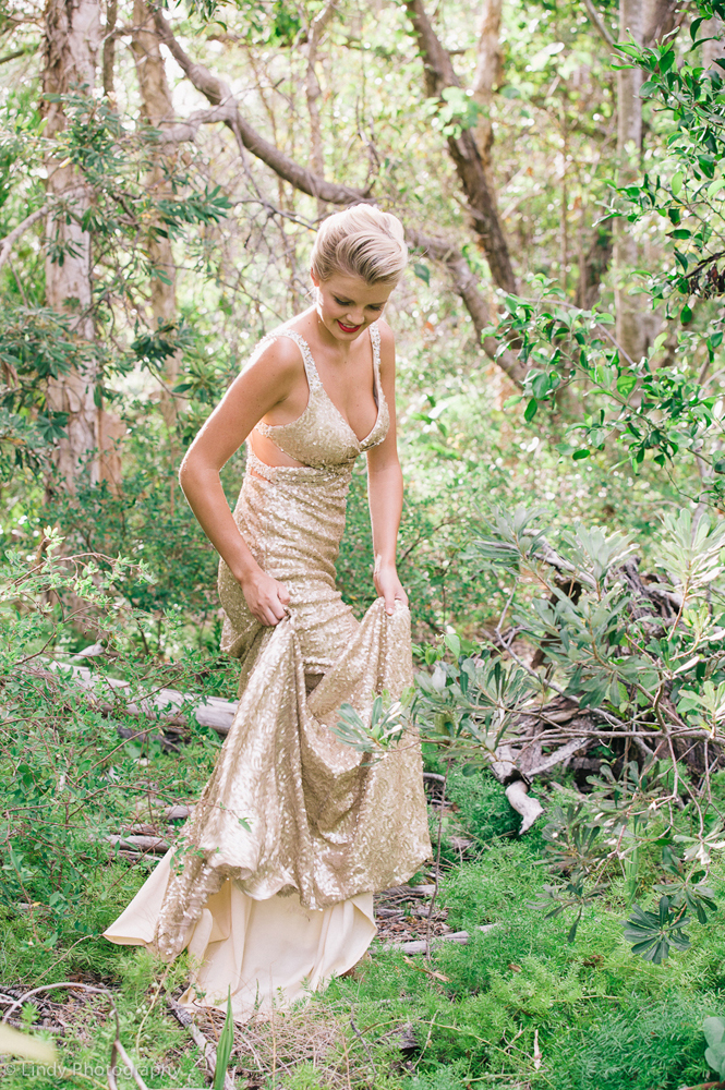 Golden Gown - From Angels Boutique