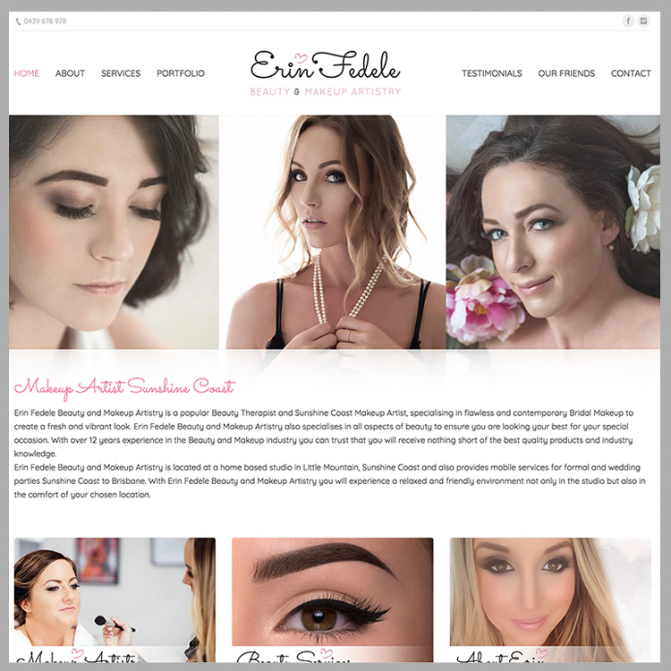 Erin Fedele Beauty & Makeup