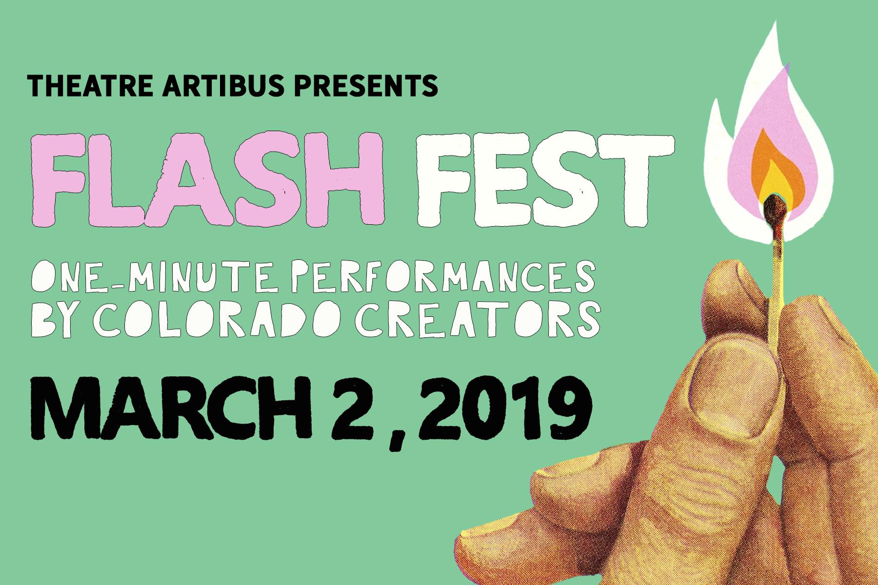 Theatre Artibus presents FLASH FEST: AN EVENING OF ONE-MINUTE PERFORMANCES