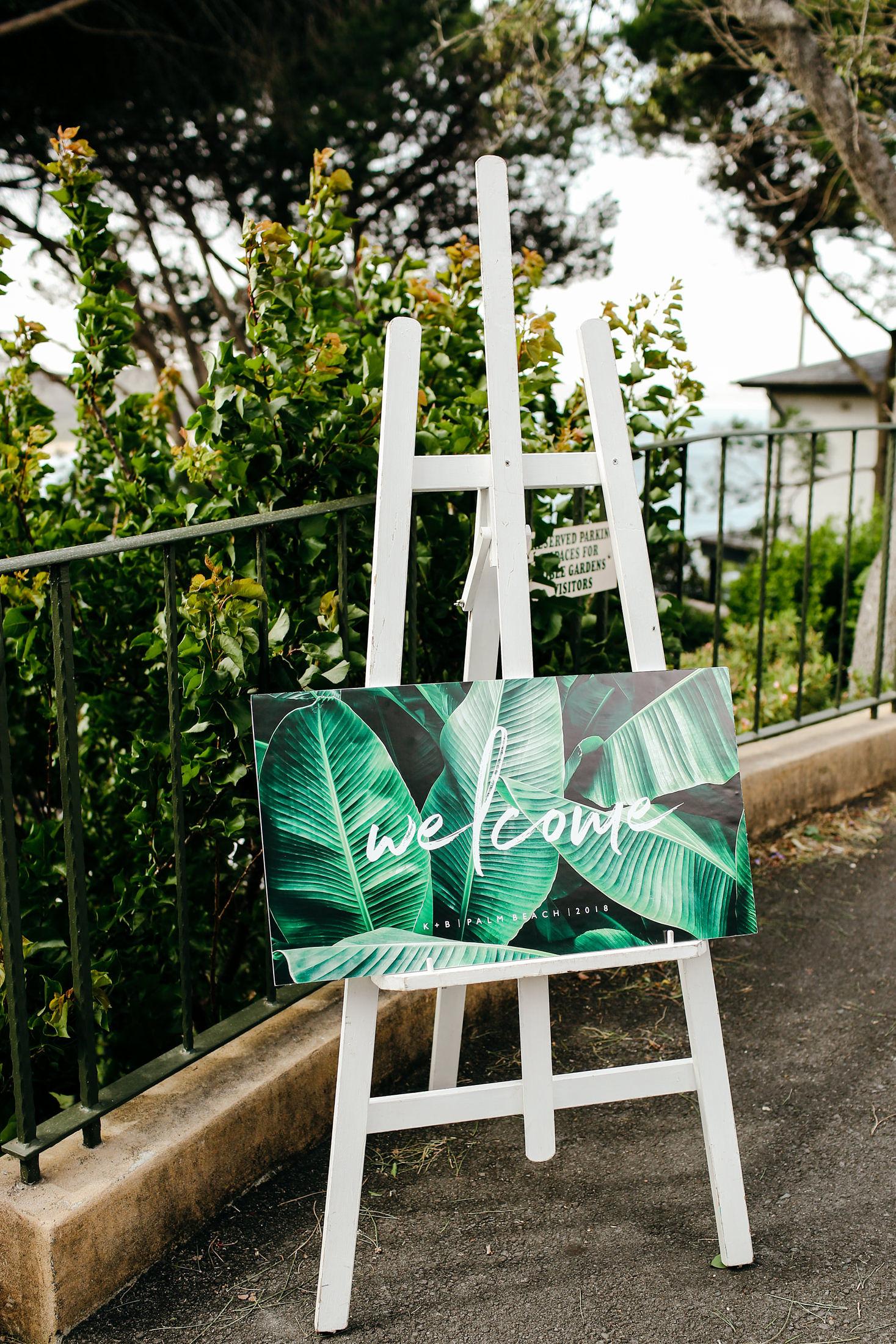 Bespoke Wedding Signage