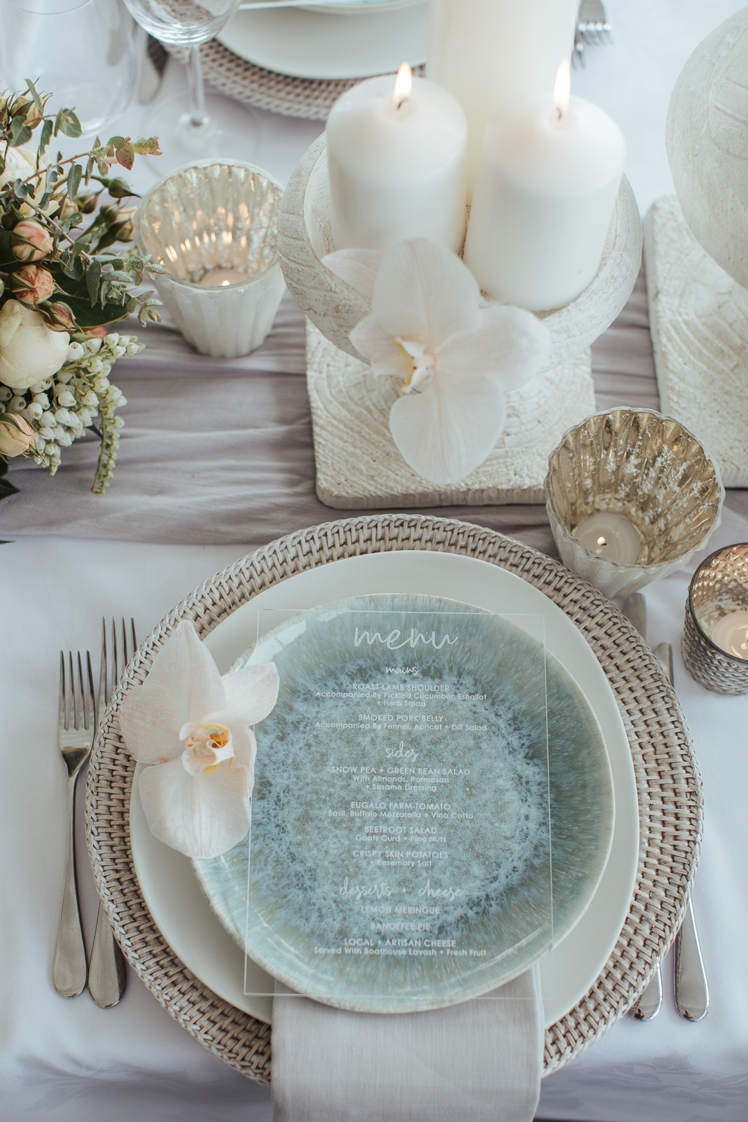 Wedding Reception Table Styling