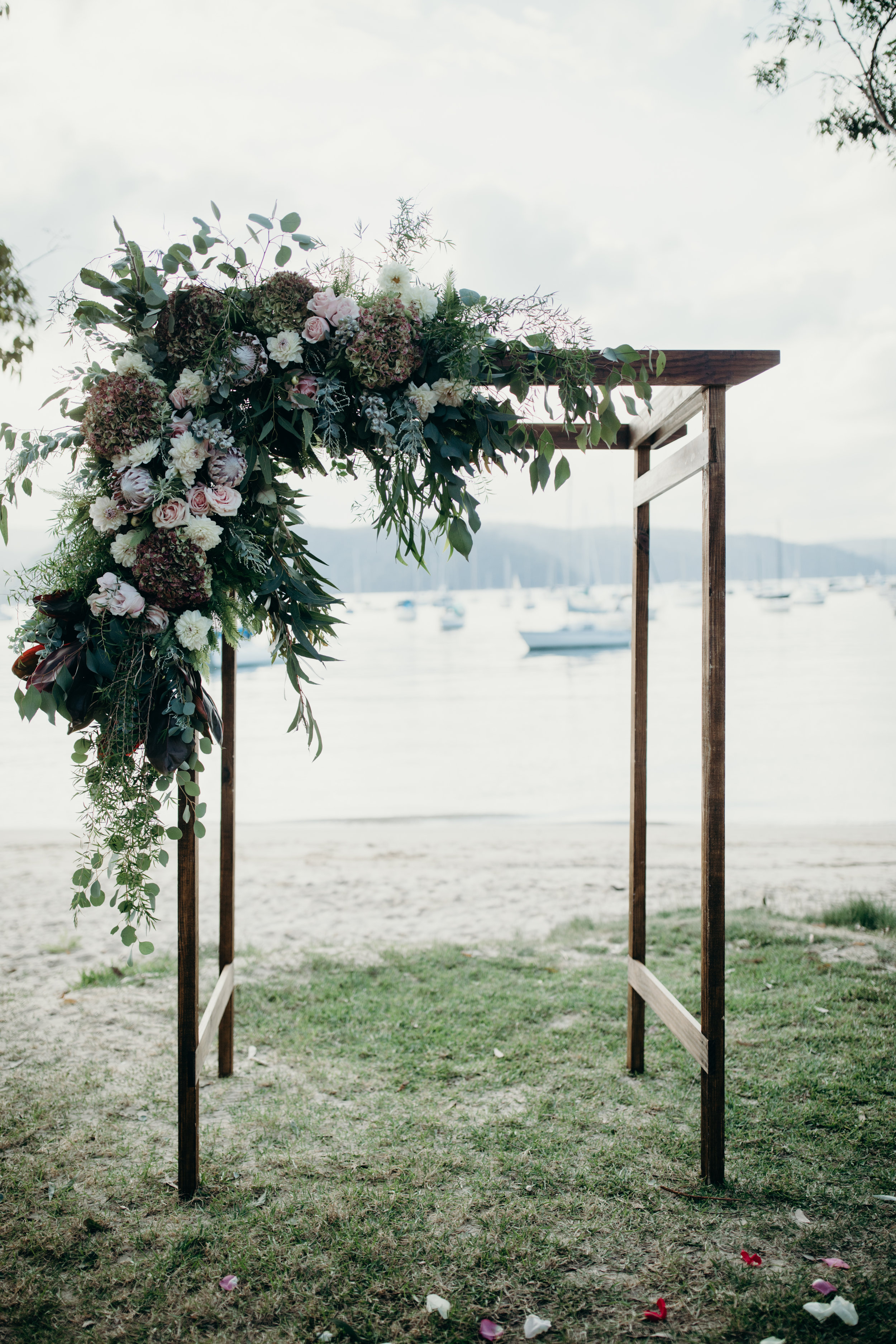 Rustic Romance Wedding Ceremony Package