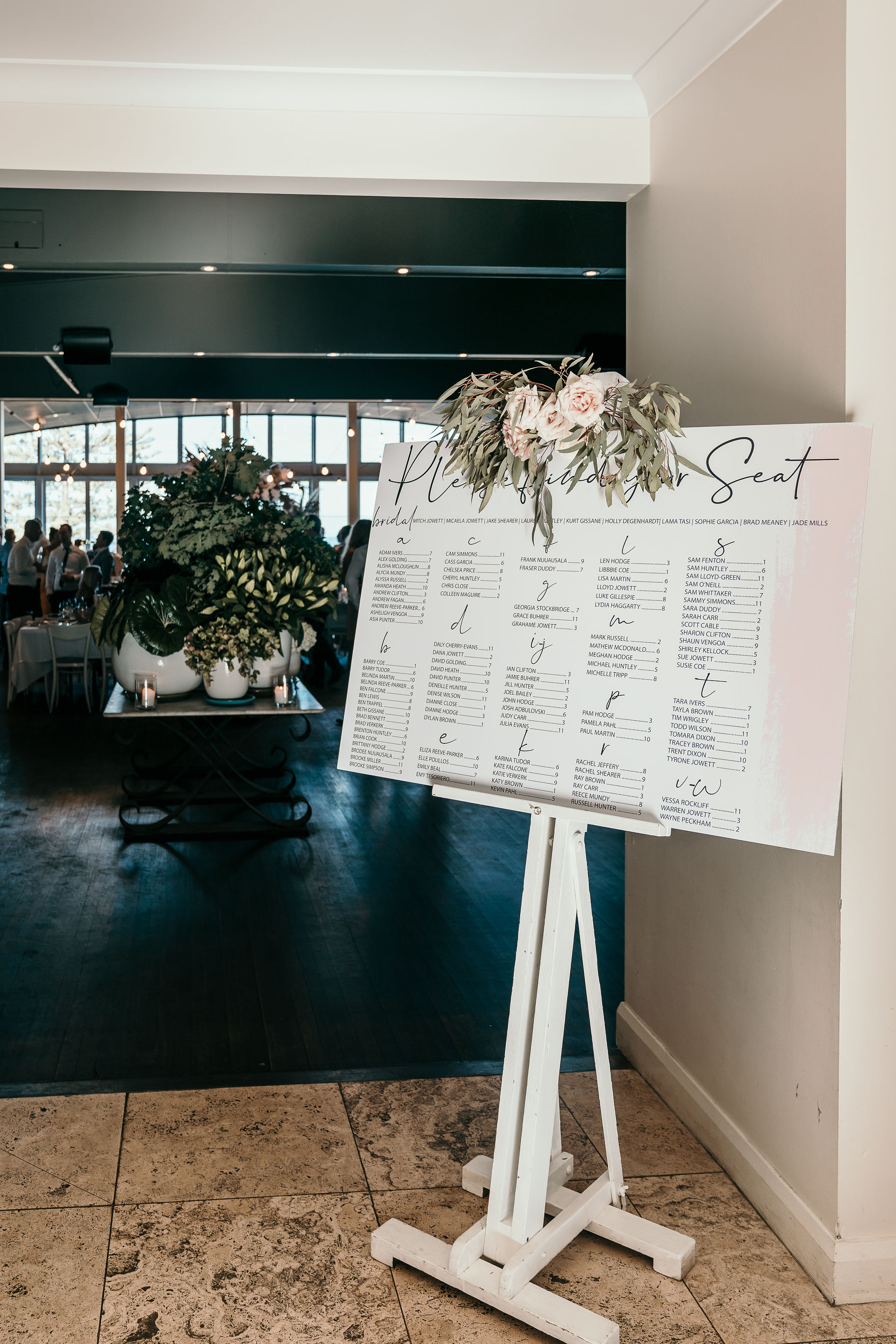 Bespoke Wedding Seating Charts