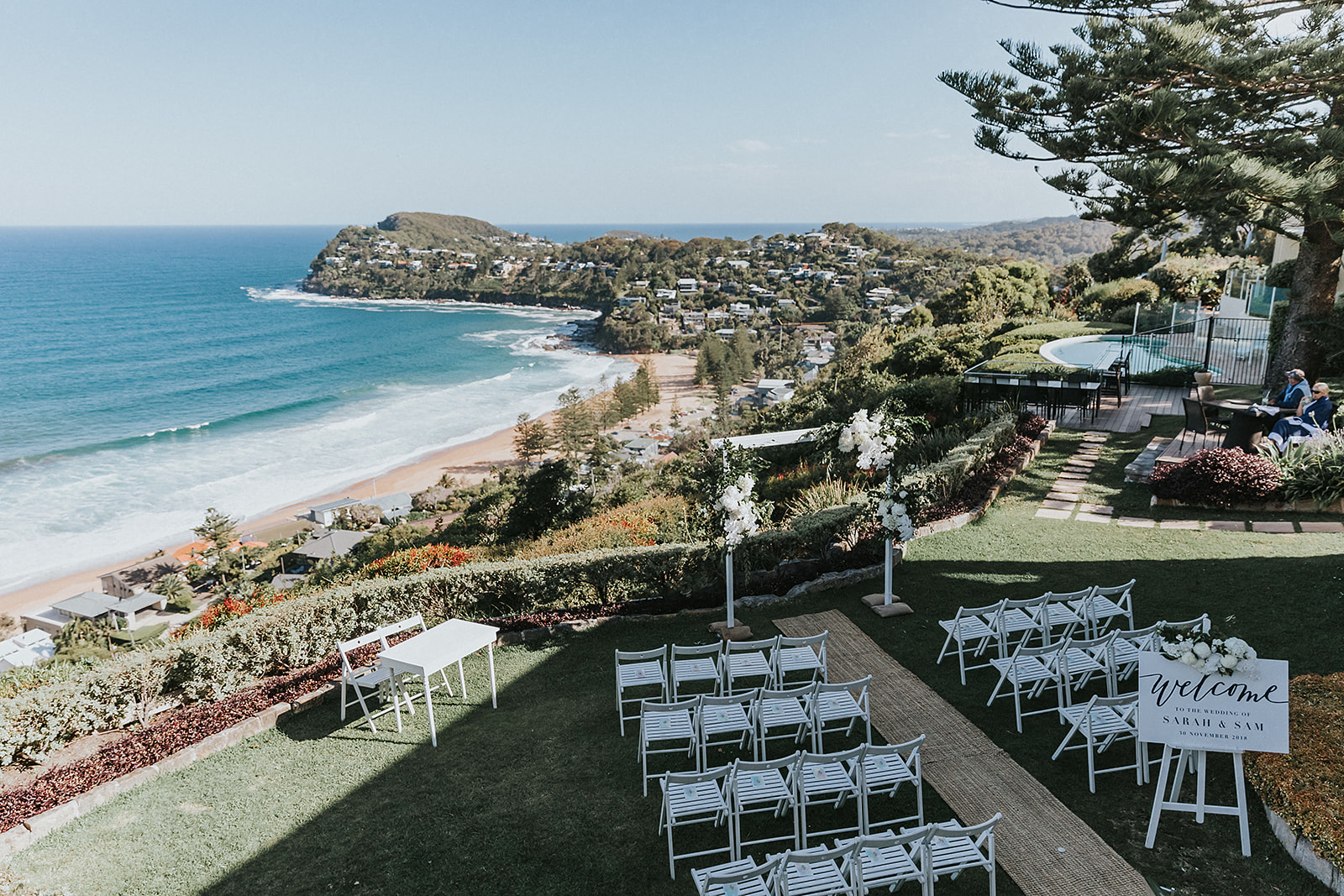 Wedding Styling Whale Beach