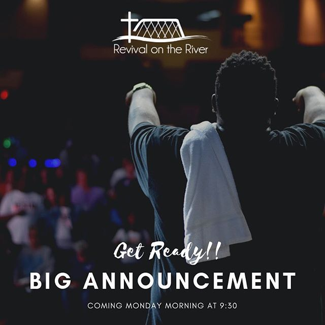 🎉WE ARE SO EXCITED TO SHARE THIS ANNOUNCEMENT WITH YOU ON MONDAY!! 🎉🤩 Tune in on Monday morning to hear the big news! • • • • • #excitingnews #breakingnews #ROTR2019 #racialunity #unity #christianmusic #livemusic.