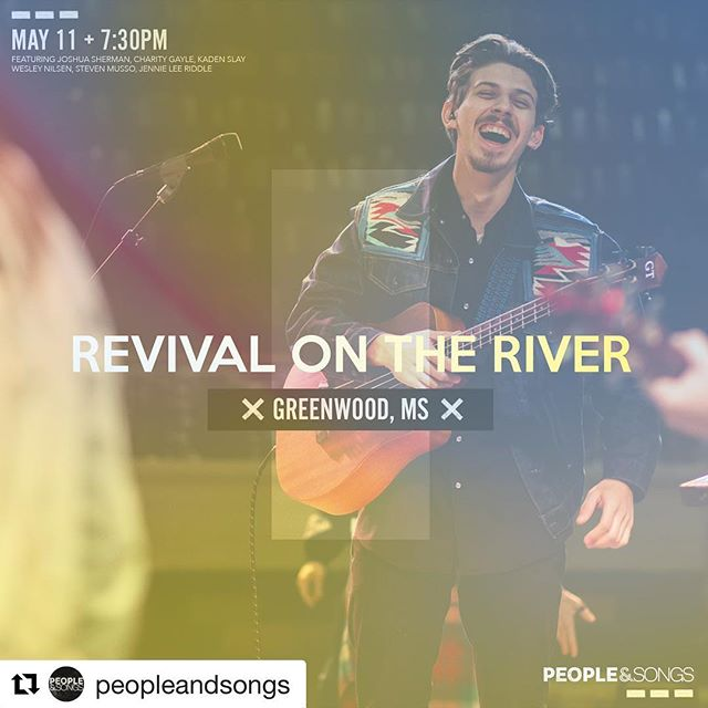 "WE ARE SO EXCITED 🎉 #Repost @peopleandsongs ・・・ ""Revival On The River believes that God can transform an entire town, state, and nation. Our Mission is to unite the body of Christ through worship, outreach, and missions. We exist to expose as many people to the love of Christ as possible."" - We love the heartbeat behind @revivalontherivergreenwood and we are honored to join in this year! To our friends in MS, LA, AL, AR, & TN - make a road trip out of it and come worship with us! We can't wait to worship with you! Find out more info at revivalontherivergreenwood.com. • • #worship #Jesus #christianfestival #music #festival #church #TheChurch #unity"