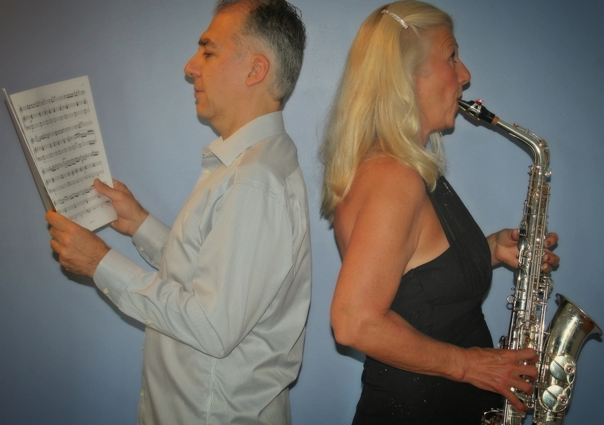 Carmen Ranta – soprano and alto saxophones and Dimiter Terziev – piano CLICK photo to find out more about Carmen and Dimiter