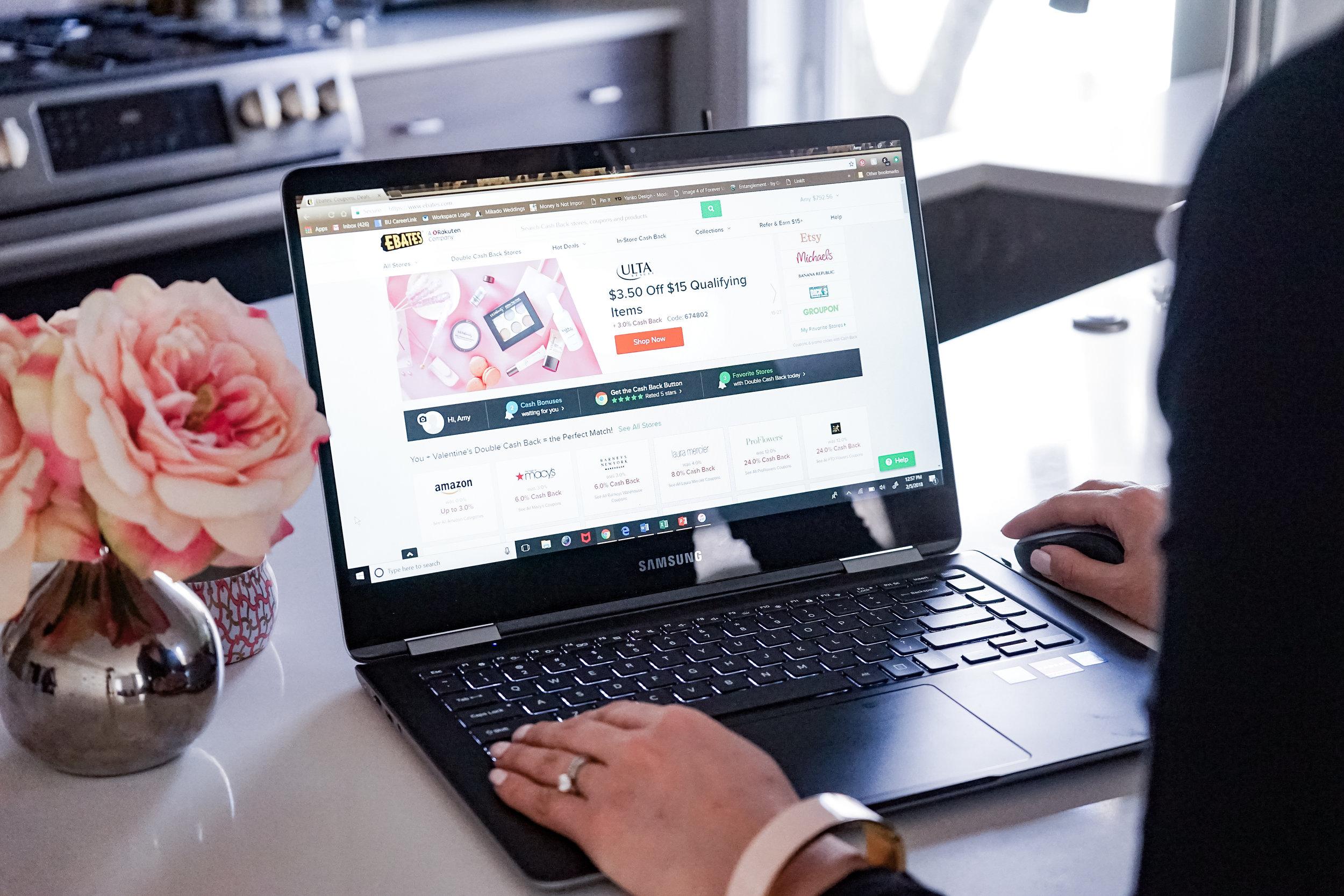 Save Money While Shopping with Ebates - TheNinesBlog.com : A Boston Blog