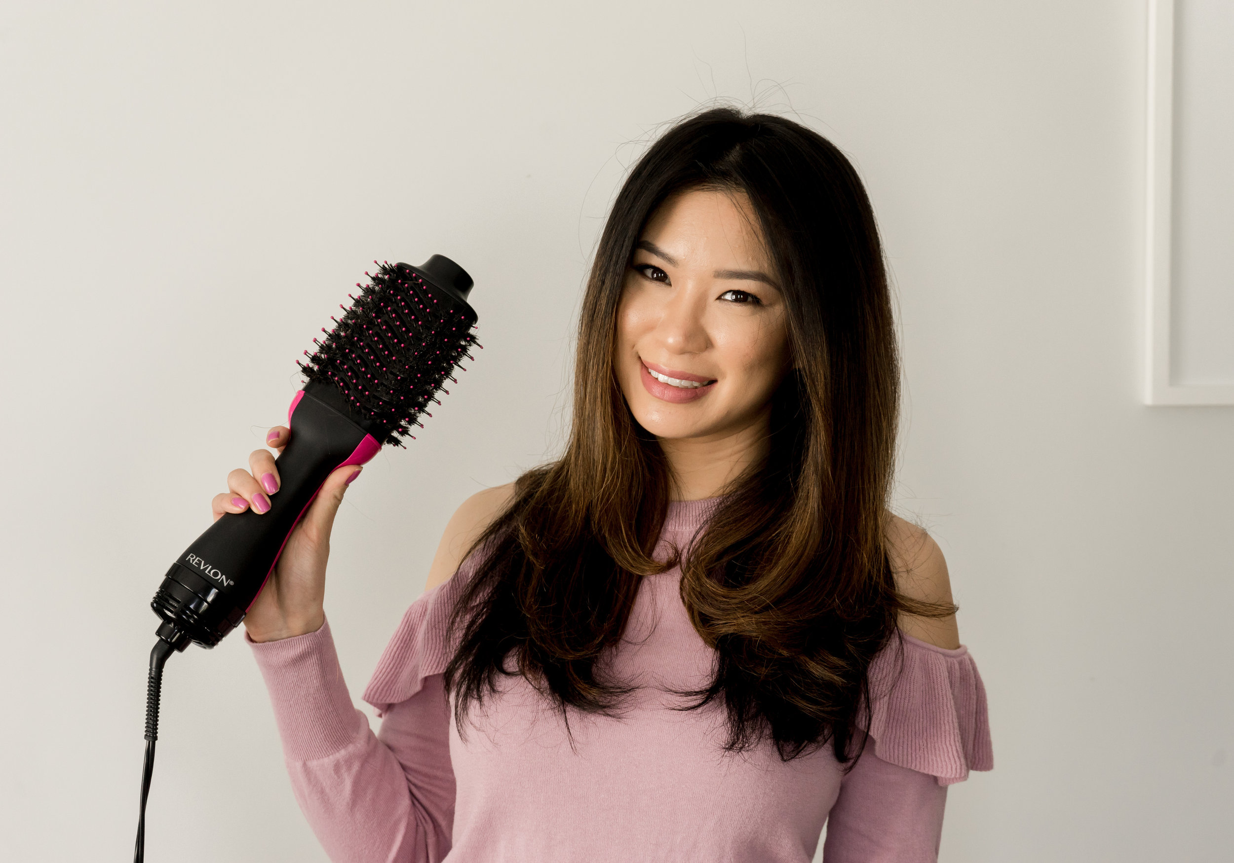 Revlon One Step Dryer Brush Review: TheNinesBlog.com - A Boston Blog