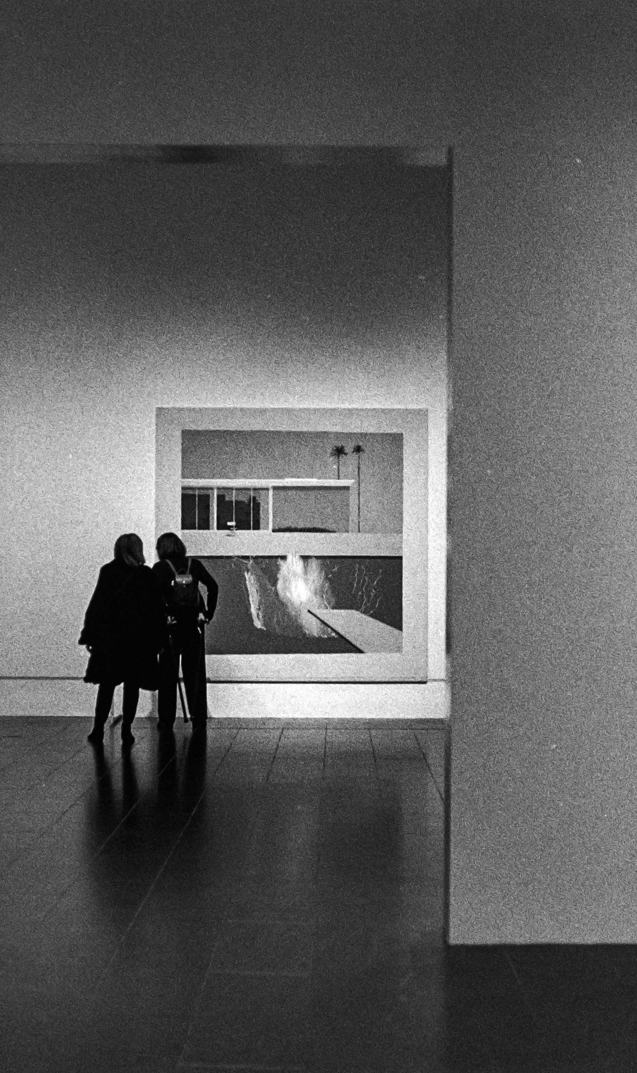 Hockney at the MET, New York