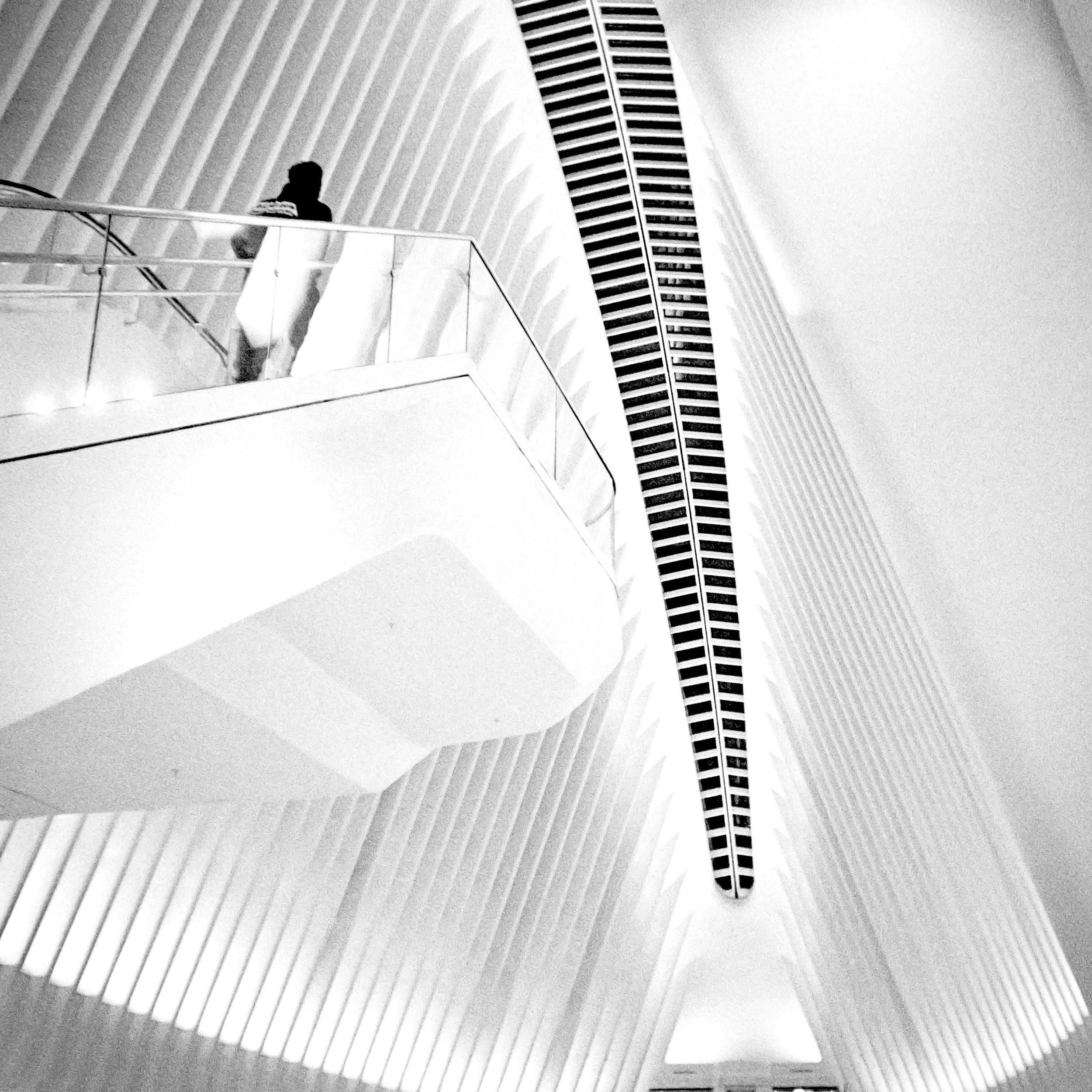 Inside the Oculus, New York