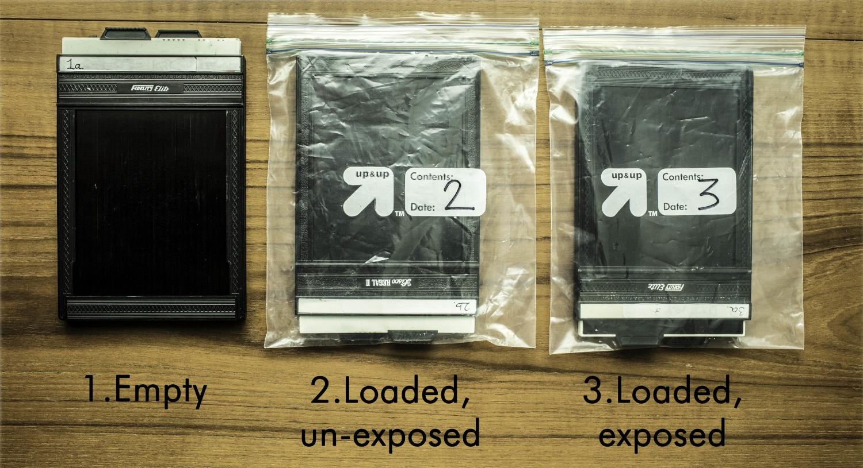 4x5 film holder system