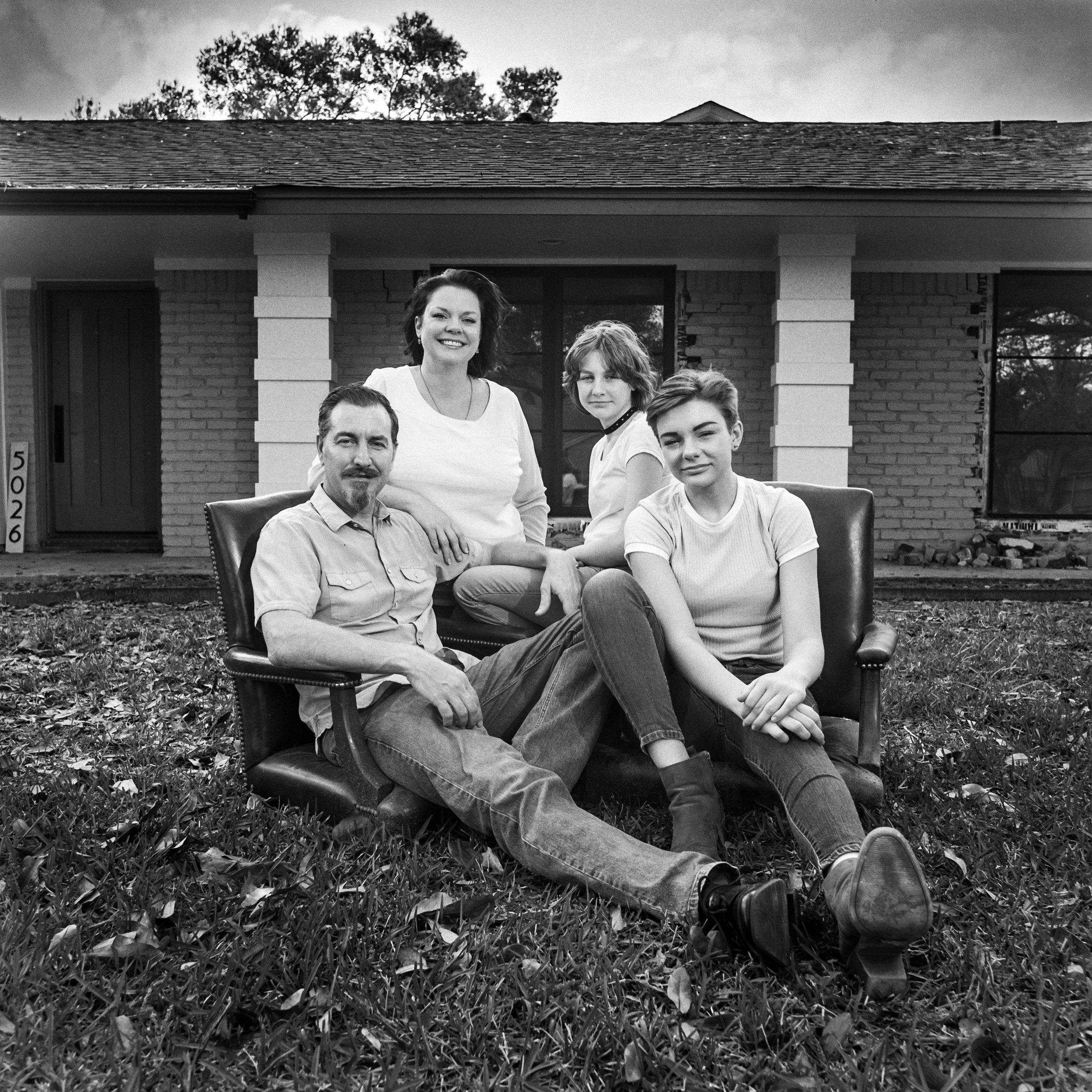 Family portrait Murphys Houston