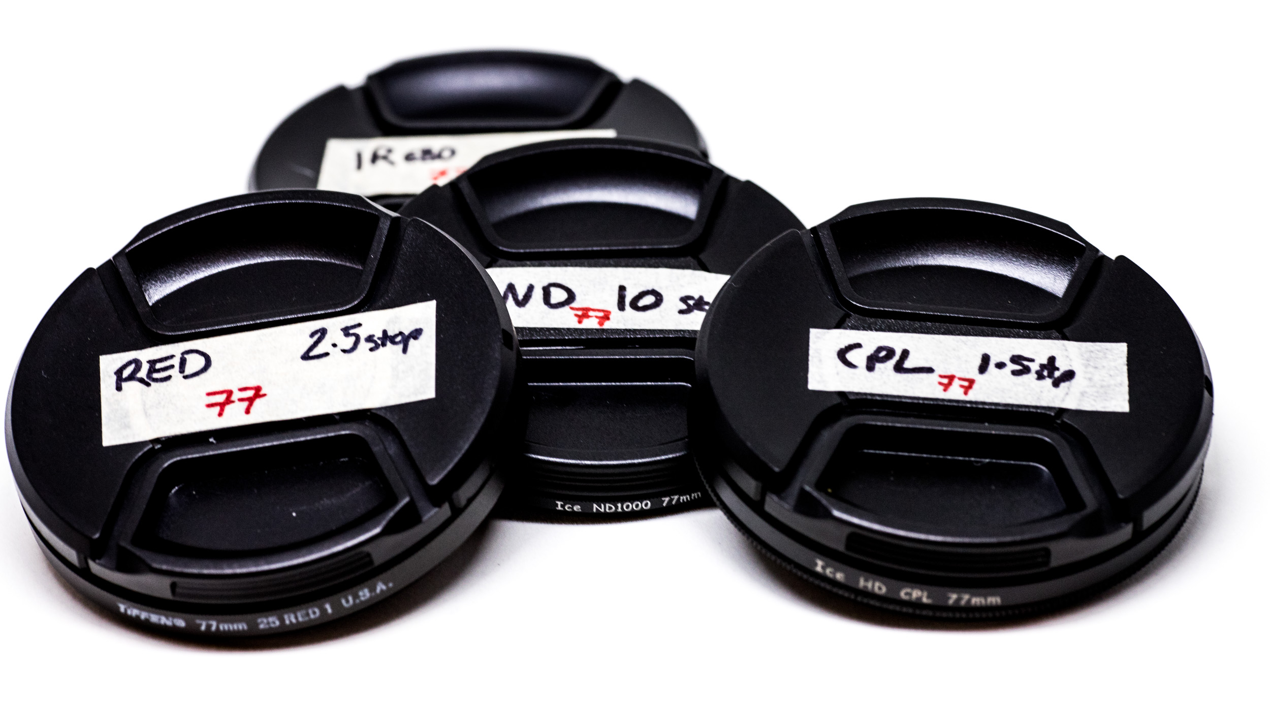 filter lens caps with description