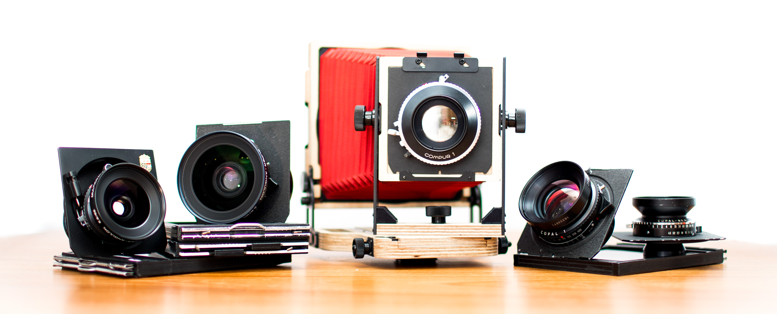 Intrepid 4x5 large format camera kit