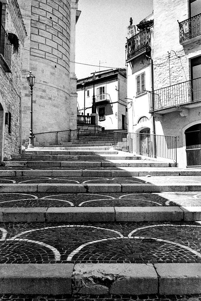 Biccari old town piazza