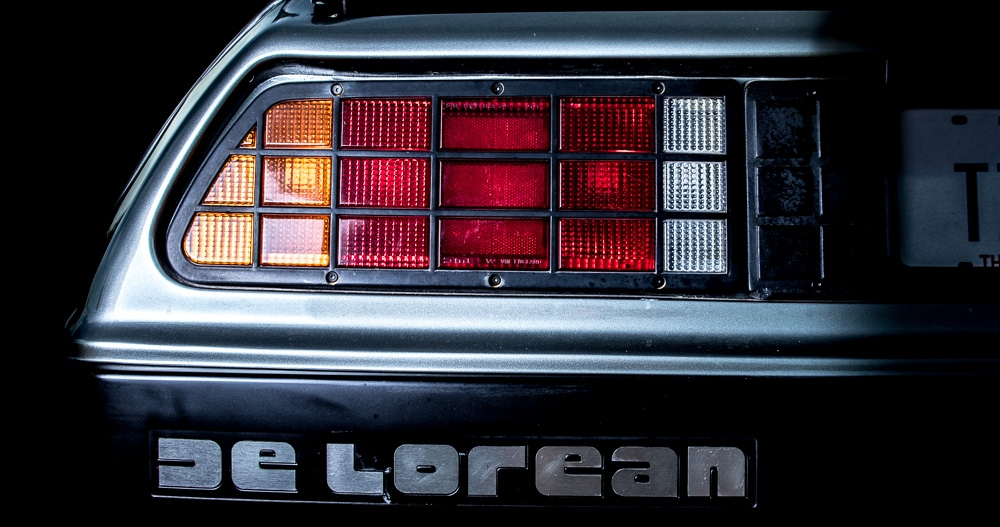 Houston Delorean rear lights