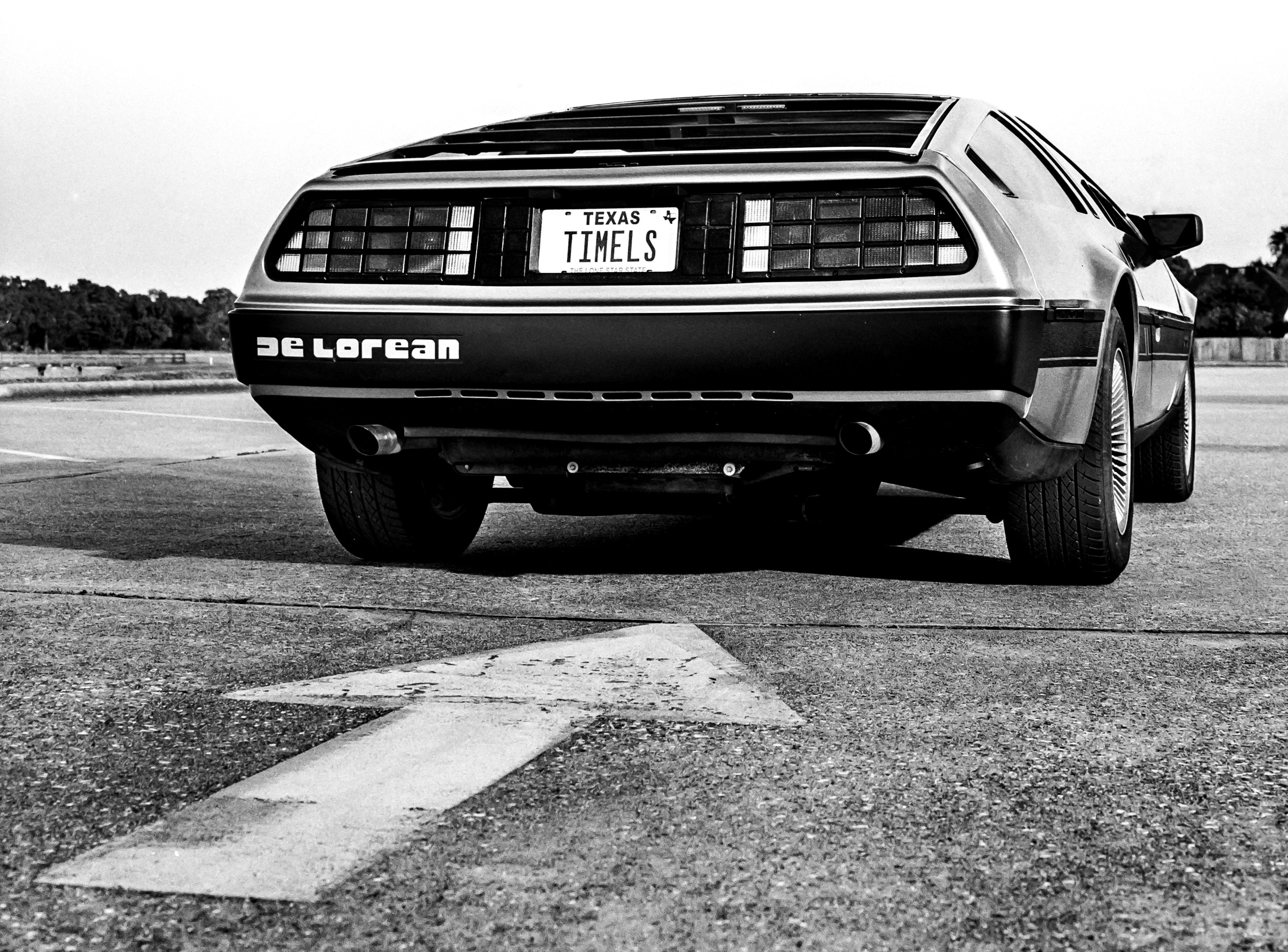 Houston Delorean rear bumper