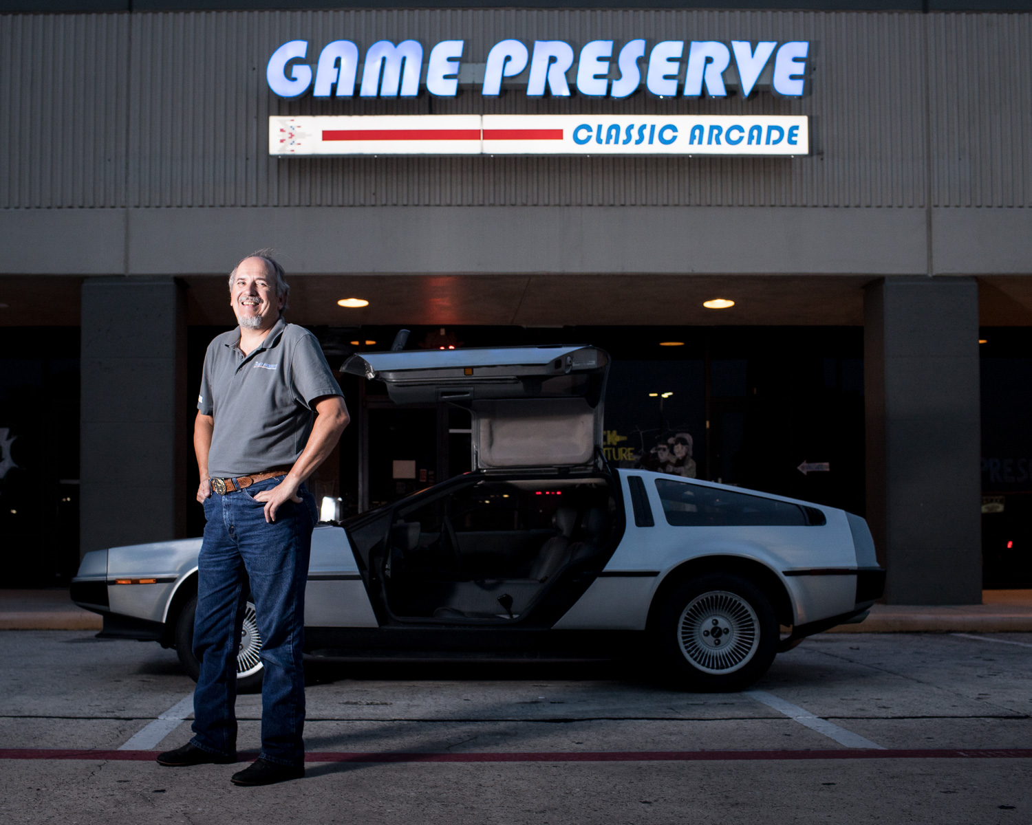 Game Preserve Arcade and DeLorean Woodlands Houston