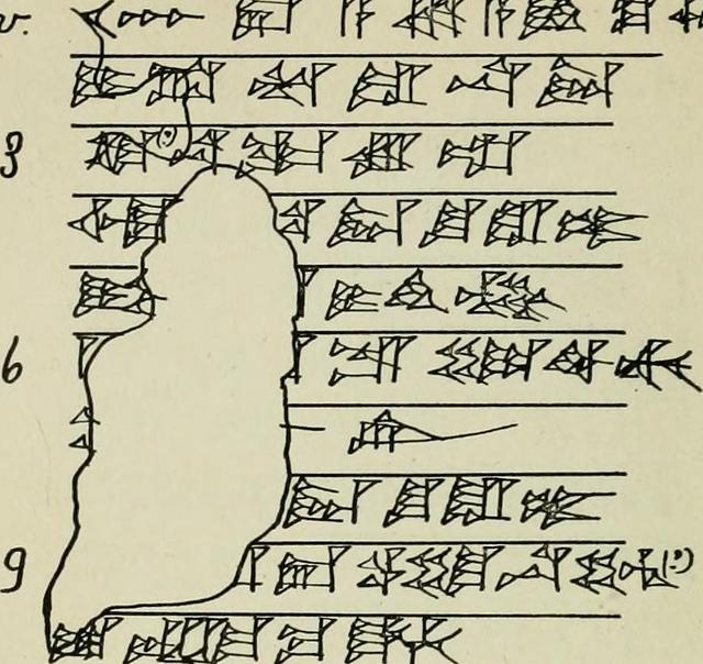 Business documents dating to Hammurabi's day.
