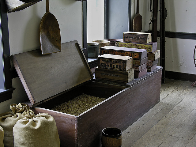 Shaker chest. Photo credit:  Johnccf  on Flickr